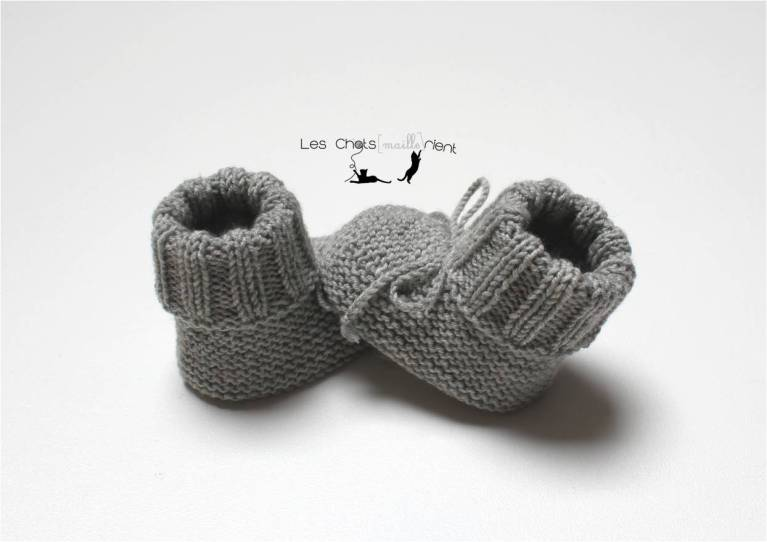 Chaussons intemporels gris 3